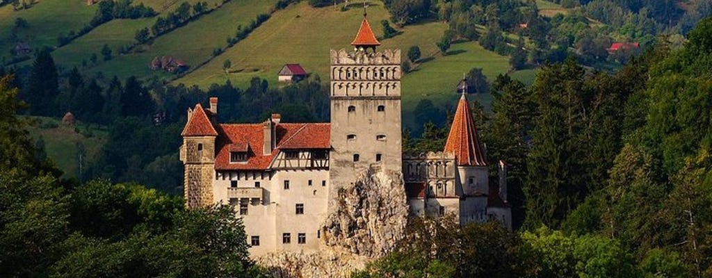 Beautiful landscapes of Transylvania and Dracula's Castle tour