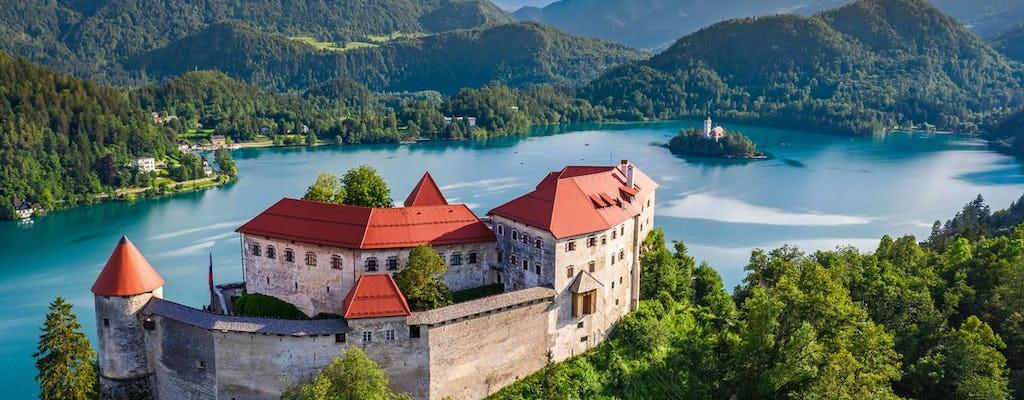 Tour durch den Bleder See und die Burg von Led nach Ljubljana