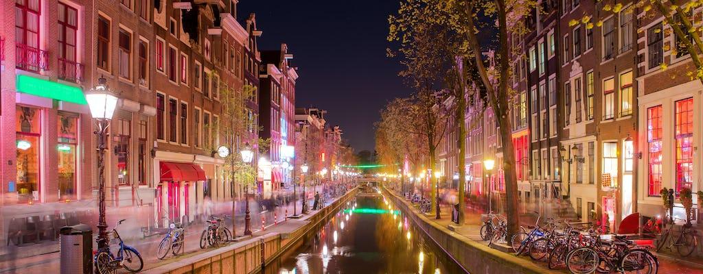 Эксклюзивные Амстердам квартал Красных фонарей экскурсия и пить