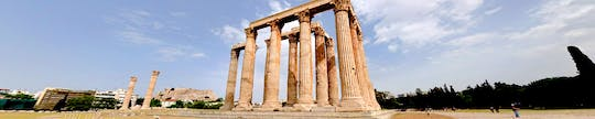 Virtual tour of the Temple of Olympian Zeus from home