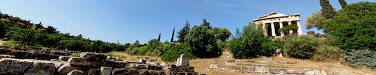 Virtual tour of Ancient Agora of Athens from home