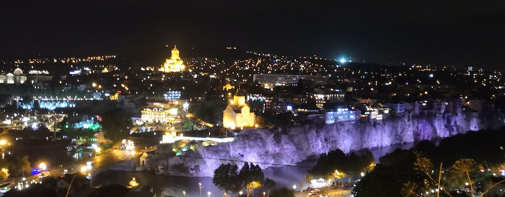 Tbilisi private night walking tour