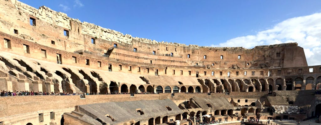 Virtual tour of the Colosseum from home