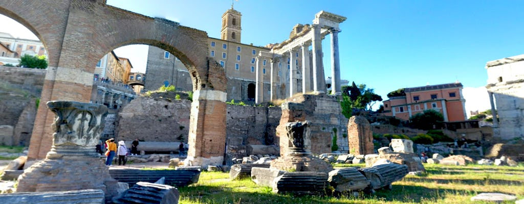 Virtual tour of the Roman Forum from home