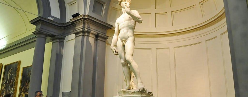Galeria Accademia z przewodnikiem z Montecatini