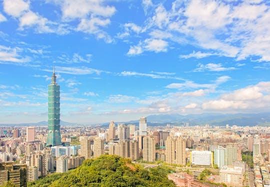 Ticket voor het observatorium Taipei 101