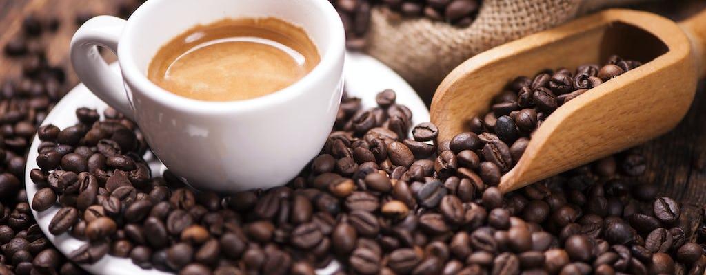 Tour de cata de café y vino