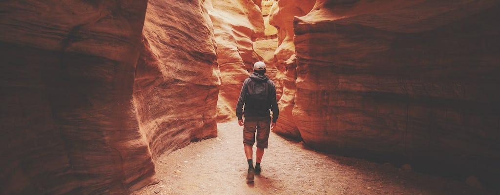 Tour durch den Red Canyon mit Shuttle von Eilat
