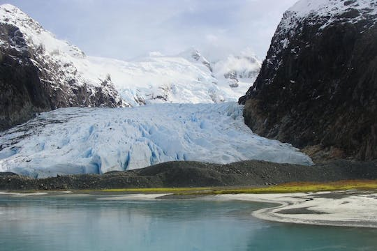 Balmaceda and Serrano glaciers cruise with traditional Patagonian lunch