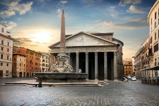Вечерняя пешеходная экскурсия от площади Рима и фонтаны