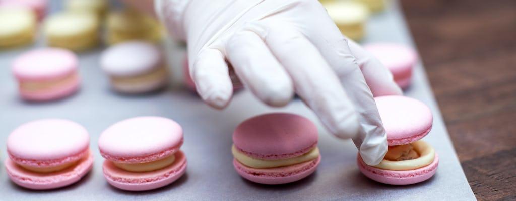 Macaron baking class with a Parisian chef