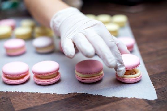 Macaron-bakles met een Parijse chef