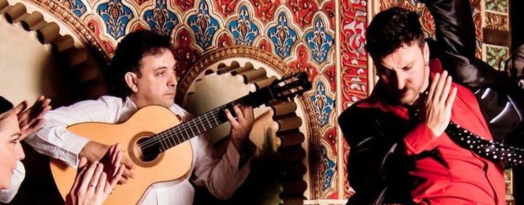 Pokaz flamenco Tablao Torres Bermejas przy jednym drinku