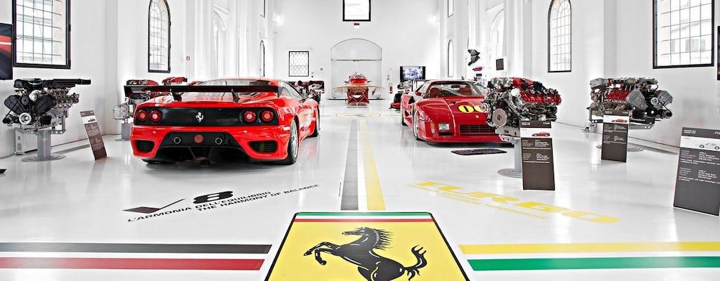 Muzea Ferrari i prywatna wycieczka po fabryce