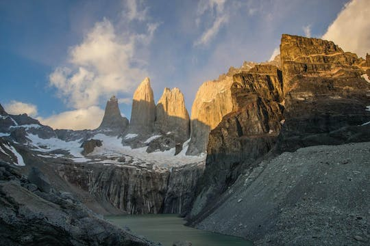 Torres del Paine towers guided hike
