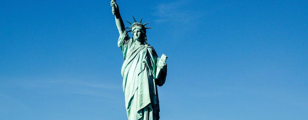 Estatua de la libertad y Ellis Island tour express