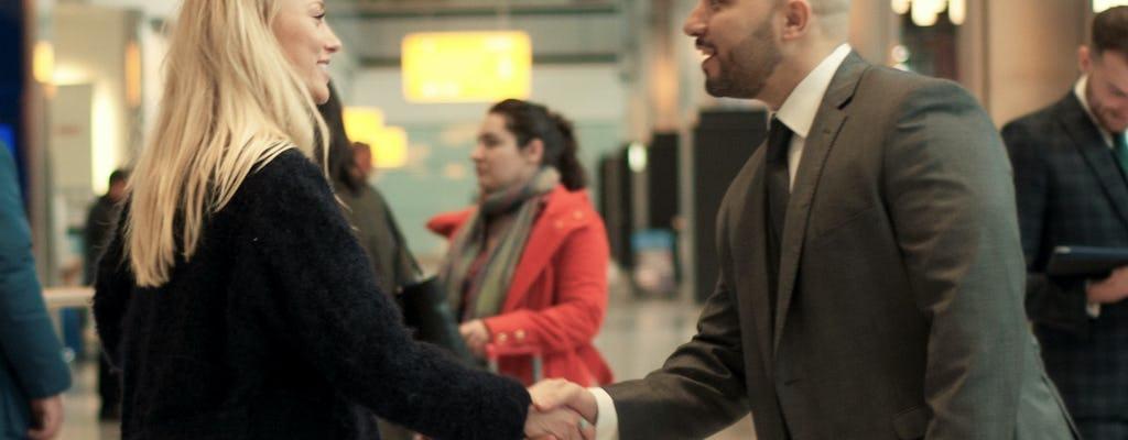 Transferência privada do aeroporto de Liverpool para o alojamento