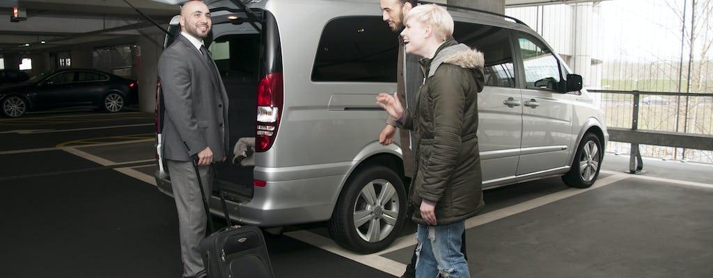 Prywatny transfer z zakwaterowania na lotnisko Norwich