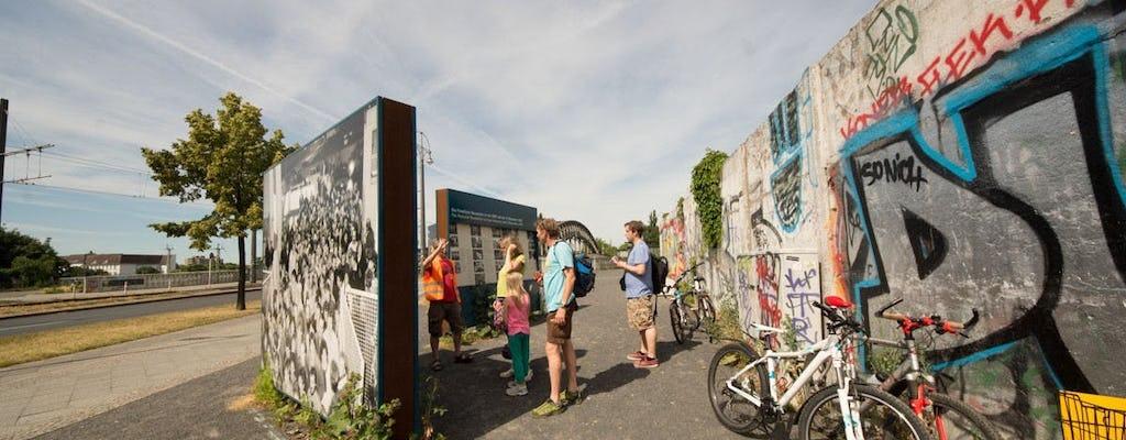 El recorrido en bicicleta por el muro de Berlín