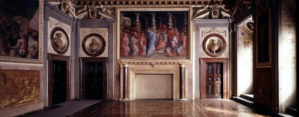Tour dei passaggi segreti di Palazzo Vecchio con pranzo tipico