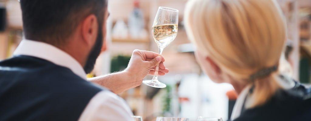 Lunch z degustacją szampana i wizyta w Saint-Germain-des-Prés