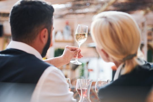 Champagne tasting lunch and visit of Saint-Germain-des-Prés