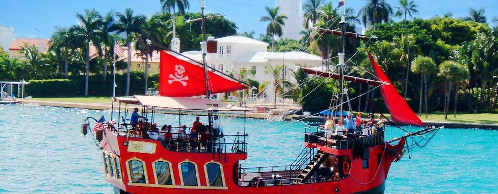 Пиратское приключение на экскурсионной лодке в Майами