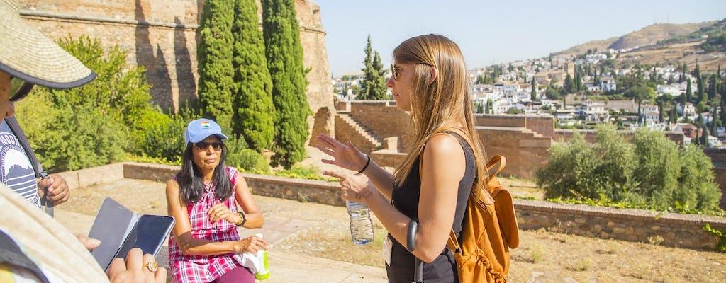Wycieczka z przewodnikiem po Alhambrze z pałacami Nasrid