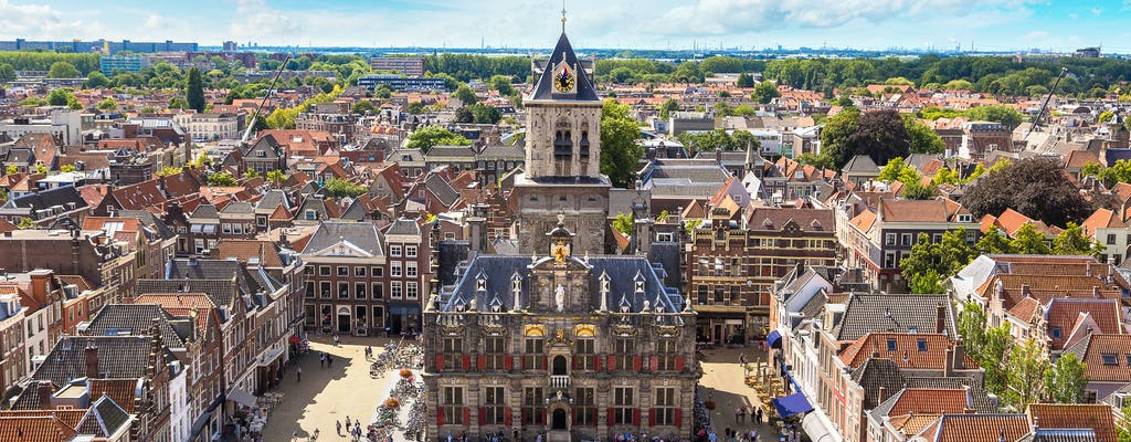 Walk and explore Delft with a self-guided city trail