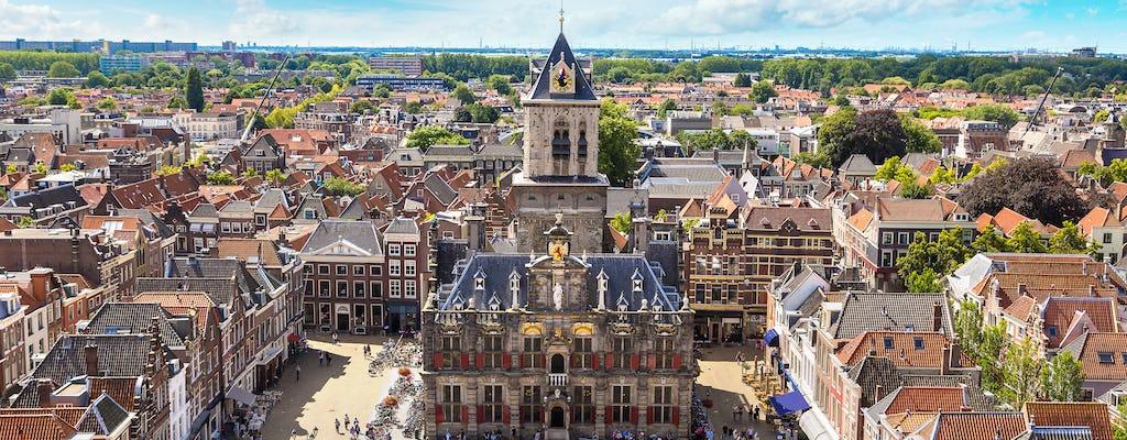 Caminhe e explore Delft com uma trilha autoguiada da cidade
