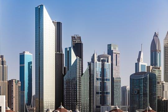 City tour privado de Dubai de meio dia com almoço no Sheikh Mohammed Center for Cultural Understanding