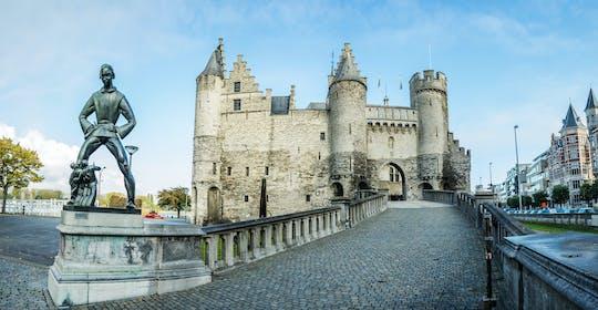 Ontdek Antwerpen tijdens een zelfgeleide stadswandeling
