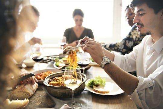 Dinner with a Parisian family