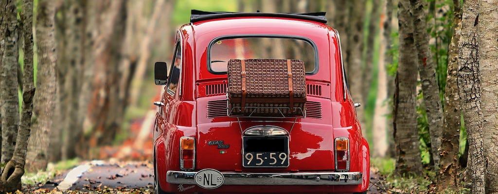 Tour vintage do Fiat 500 pela Toscana saindo de Florença