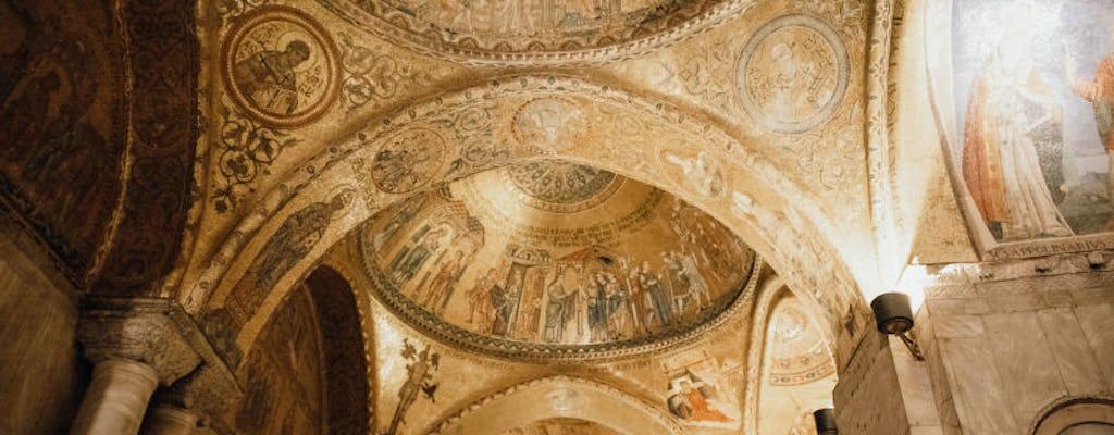 Virtual Journey into St. Mark's Basilica, the Venetian Gem