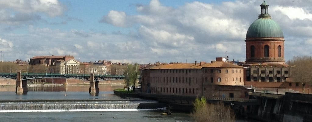 Walking tour of the left riverbank in Toulouse