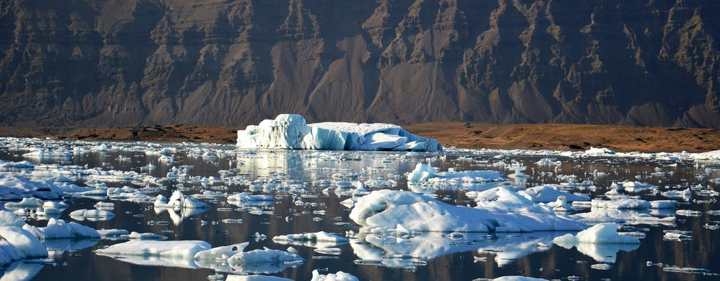 Avventura privata alla laguna glaciale di Jökulsárlón