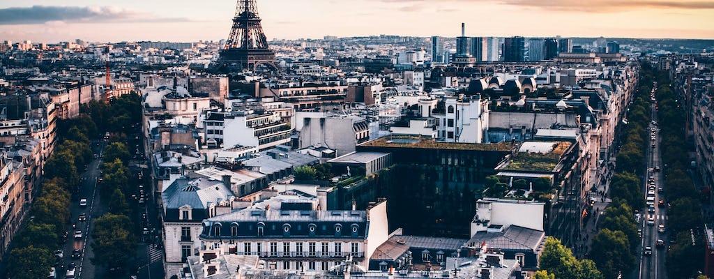 Kolekcja przewodników audio po Paryżu