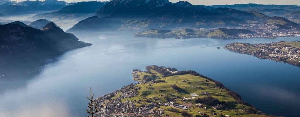 Mount Rigi day pass including lunch at restaurant Bahnhöfli