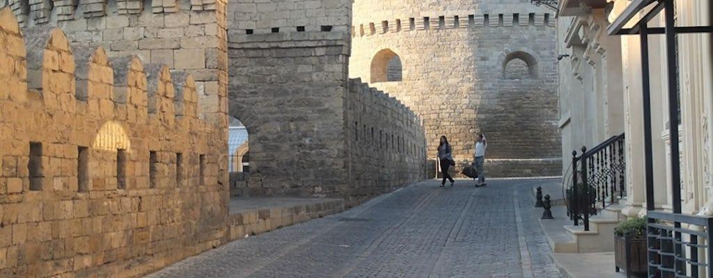 Stara i nowoczesna wycieczka grupowa po mieście Baku