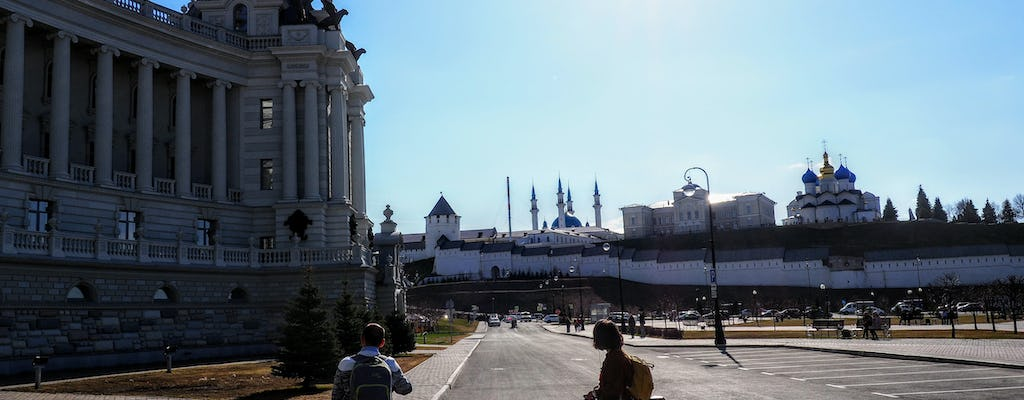 Kazan private city tour by bike