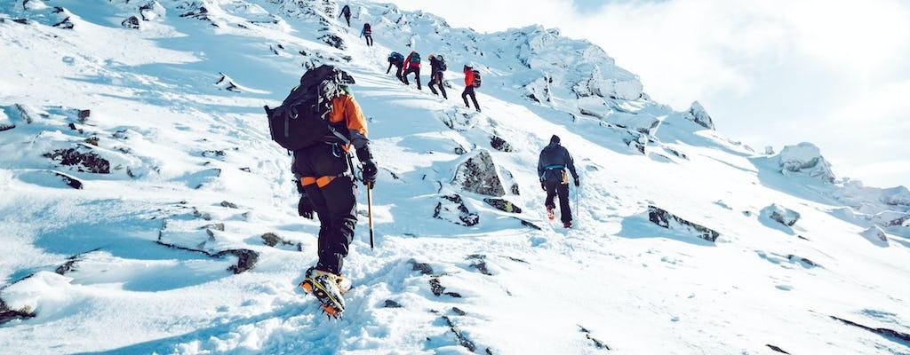 Randonnée d'hiver à Pulpit Rock Preikestolen