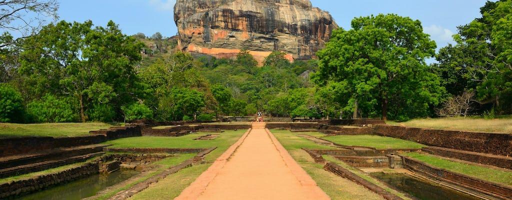 Sigiriya rock and Dambulla caves tour from Colombo