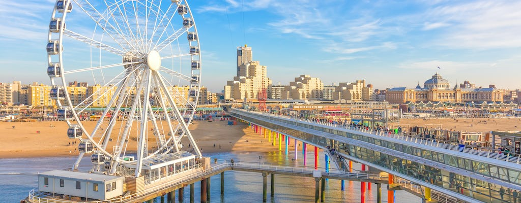 Walk and explore Scheveningen with a self-guided city trail