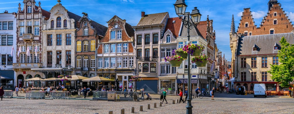 Walk and explore Mechelen with a self-guided city trail