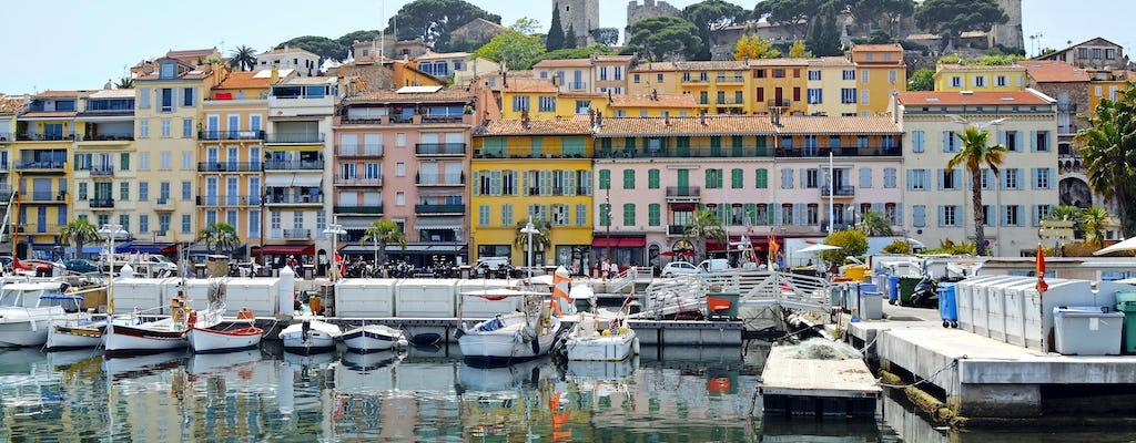Visite privée de la Côte d'Azur au départ de Cannes