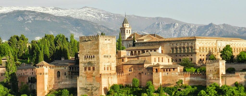 Visite guidée de l'Alhambra, du Generalife et des palais nasrides