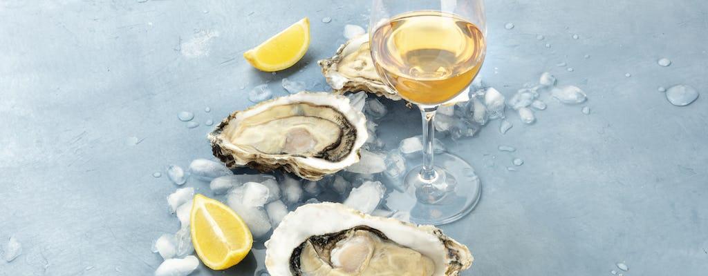 Tour di ostriche e degustazione di vini per piccoli gruppi