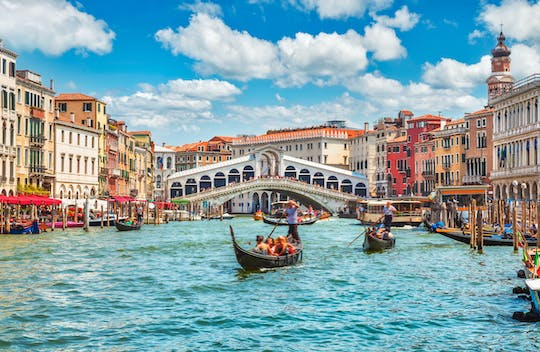 Private walking tour of Venice with gondola ride