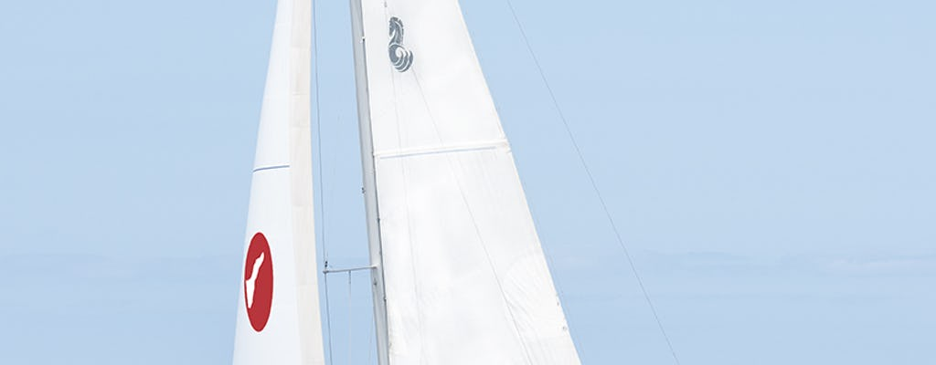 Charter sailboat with skipper rental